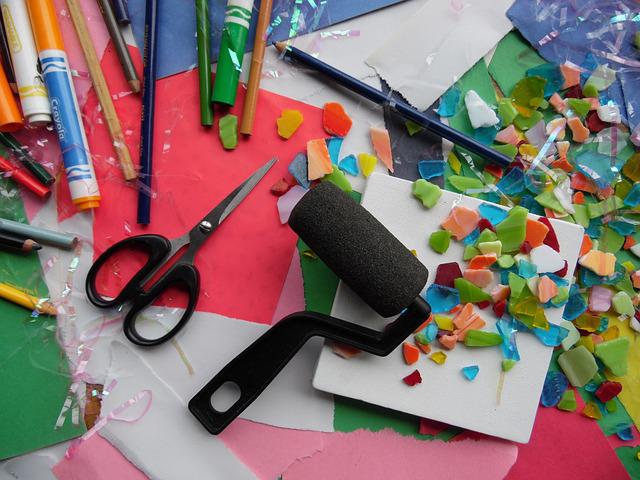 matériel de décoration et de bricolage